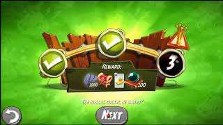 Beat The Daily Challenge King Pig Panic Completed in Angry Birds 2 FRIDAY 2