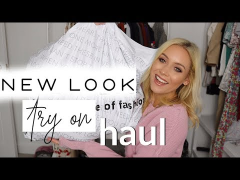 NEW LOOK TRY ON HAUL | AUTUMN 2019