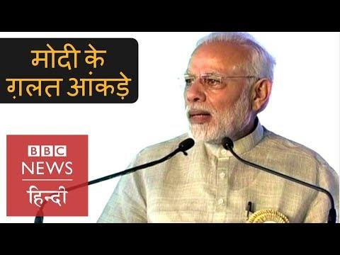 PM Narendra Modi Shared Wrong Data During His Speech in Bihar (BBC Hindi)