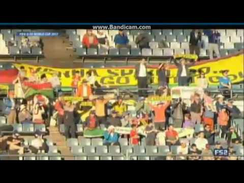 Bong Kalo free kick goal Germany U20 3   2 Vanuatu U20