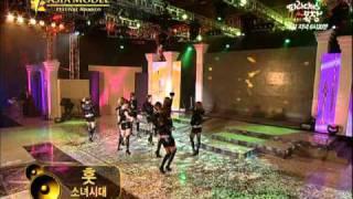 (01.29.11) \x5bSBS Plus Asia Model Festival\x5d SNSD - Award \\u0026 Hoot! Live
