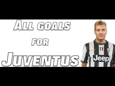 NICKLAS BENDTNER: ALL GOALS FOR JUVENTUS (FULL HD)