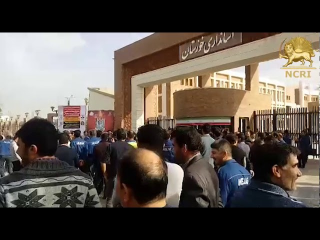 IRAN: Feb. 21, National steel company personnel protest to three months delayed payment of salaries