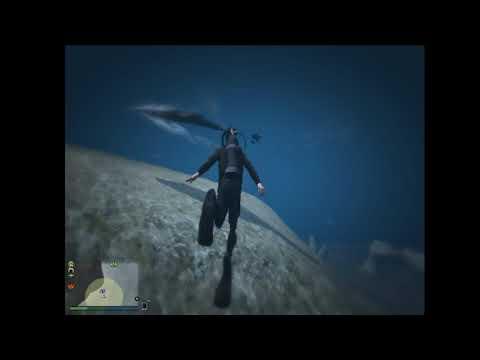 GTA 5 underwater exploration!!! episode 1.