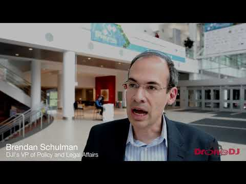 Interview with Brendan Schulman, DJI's VP of Policy and Legal Affairs, at the AUVSI Xponential 2018