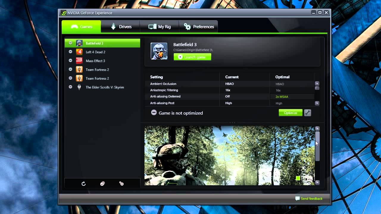 How to Optimize Your PC Games' Graphics Settings in One Click