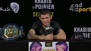 UFC 242: Post-fight Press Conference Highlights