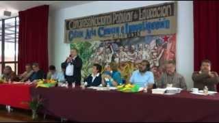 Inauguración del Congreso Nacional de Educación y Cultura. Artemio Ortiz