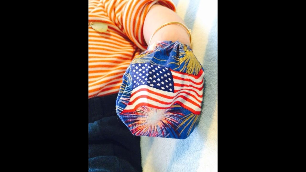 How to make baby mittens by hand - YouTube