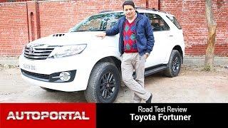 Toyota Fortuner Test Drive Review - Autoportal