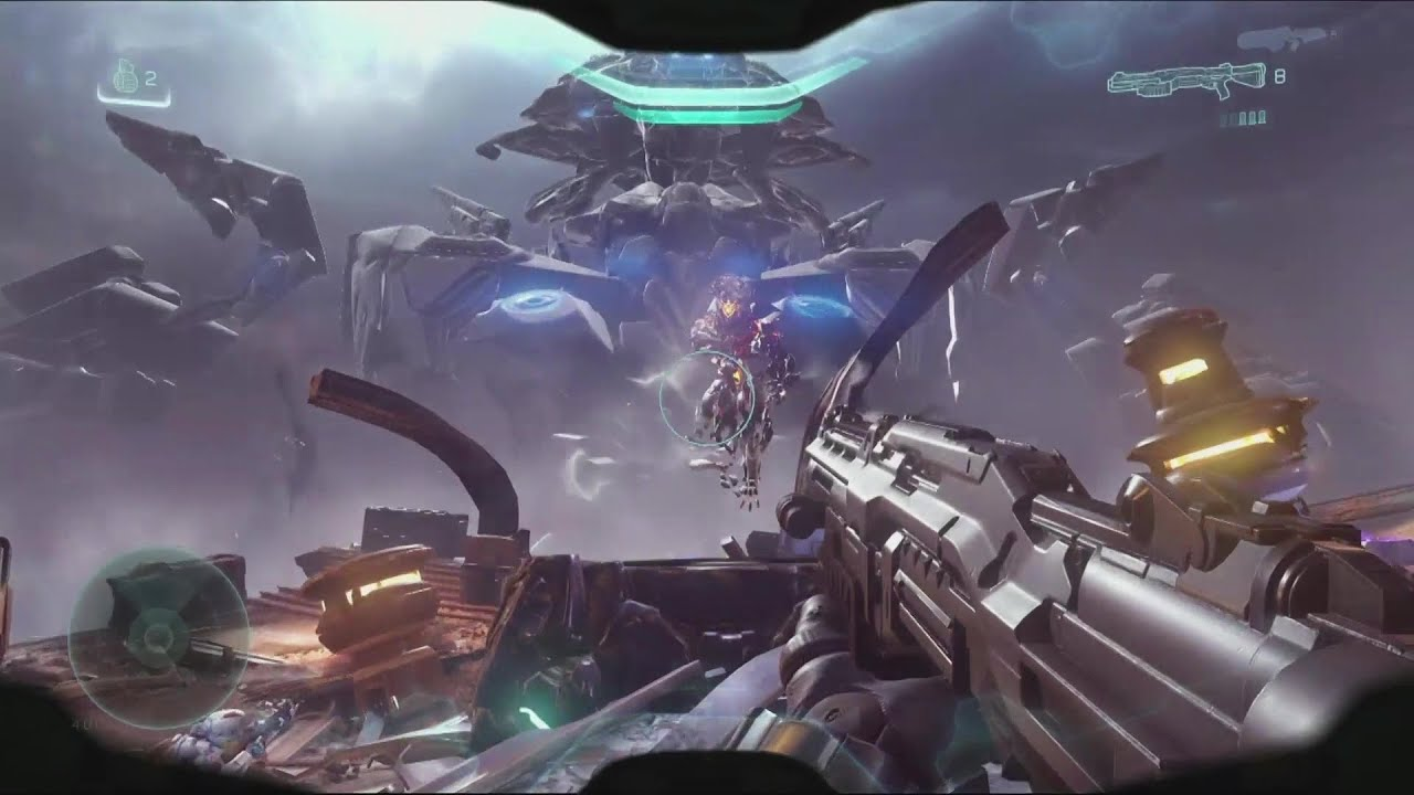 Halo 5: Guardians - Single Player GAMEPLAY Demo & E3 Trailer [1080p HD] |  E3 2015 - YouTube