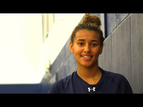 Andra Espinoza-Hunter - Ossining Guard - Highlights/Interview - Sports Stars of Tomorrow