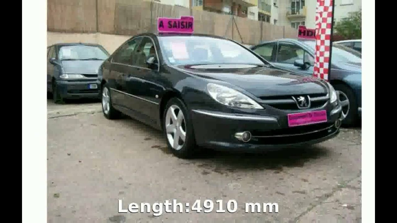 2005 peugeot 607 2 7 v6 hdi fap details specification. Black Bedroom Furniture Sets. Home Design Ideas