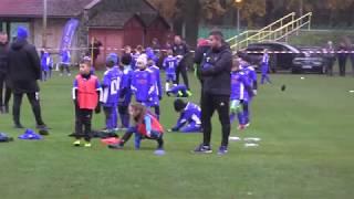 CZ3-Kudełek na Mistrzostwach Polski Footbal Academy w roczniku 2010-Rozpoczęcie-I Mecz FA Chojnów