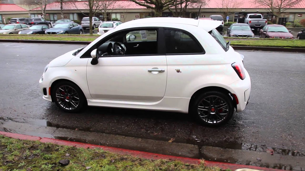 2015 Fiat 500 Abarth Bianco White Ft603560 Redmond