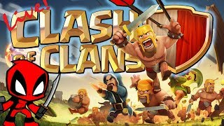 ROOKIE PLAYING CLASH OF CLANS | COC LIVE | HINDI/ENGLISH COMMENTARY | LIVE #50