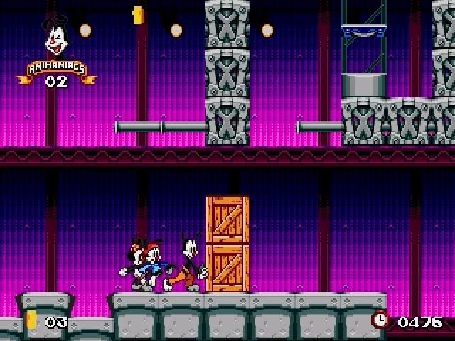 Jouez à Animaniacs sur Sega Megadrive avec nos Bartops et Consoles Retrogaming