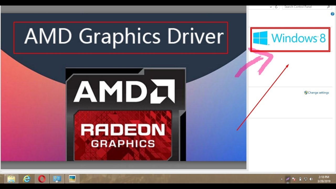 How To Install Amd Graphics Card In Windows 8 In Tamil Tech Fox Youtube