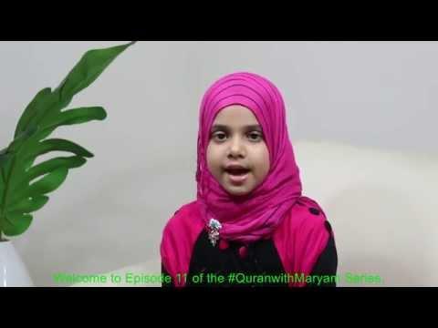 #QuranwithMaryam - Maryam is reciting Surah At-Takathur (Episode# 11)