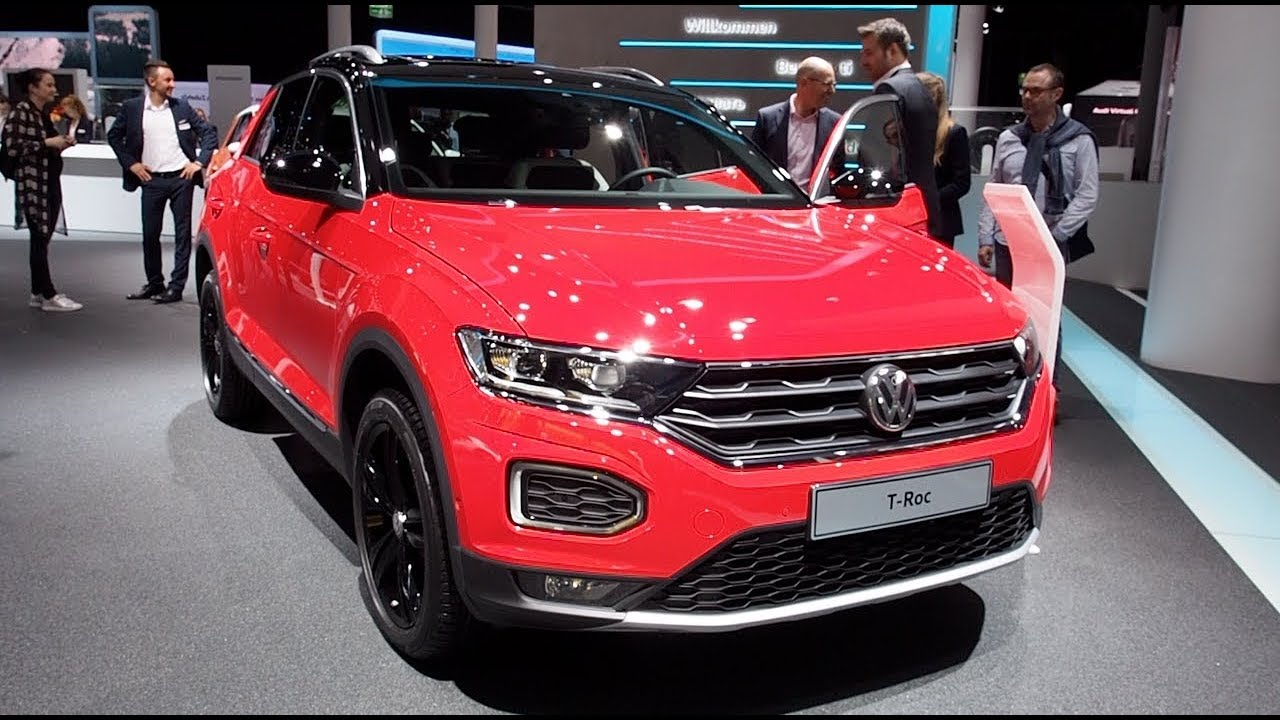 volkswagen t roc 2018 in detail review walkaround interior. Black Bedroom Furniture Sets. Home Design Ideas