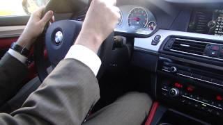 2013 BMW M5 test-drive