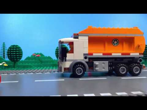 Lego City Trash Truck (BrickFilm)