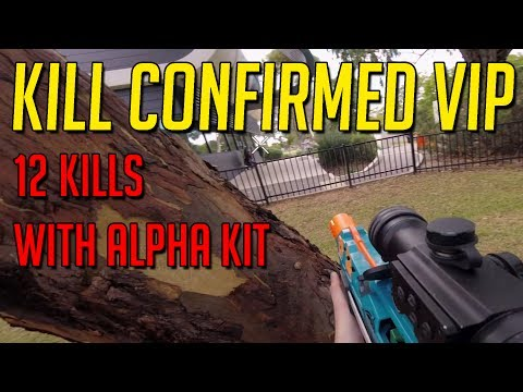 Alpha Kit Gameplay - Kill Confirmed V.I.P. Round 1