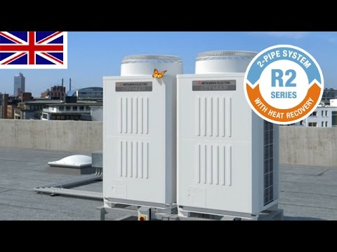 Mitsubishi Electric R2-system with heat recovery