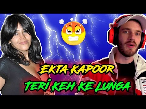 Ekta Kapoor vs Pewdiepie | Funny Indian TV Serials | Funny Indian TV Soap Operas
