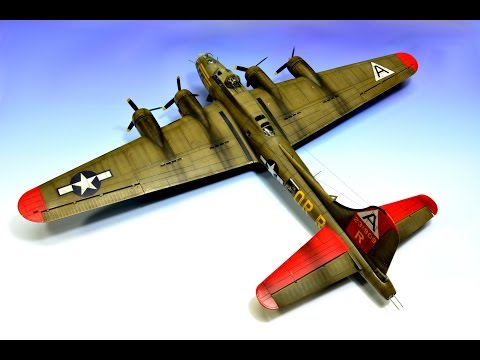 Boeing B-17G flying fortress Revell 1:72 Step by Step - Part 3