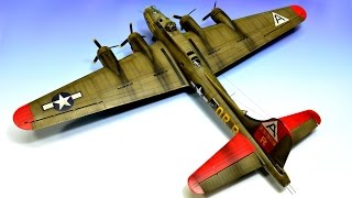 Video Boeing B-17G flying fortress Revell 1:72 Step by Step - Part 3 download MP3, 3GP, MP4, WEBM, AVI, FLV Juli 2018