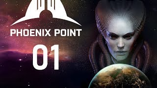 Let's Play PHOENIX POINT Gameplay PC Part 1 (FROM THE ORIGINAL CREATOR OF XCOM)