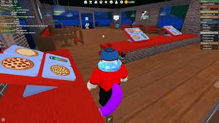 Tyler plays Roblox - Work at a Pizza Place