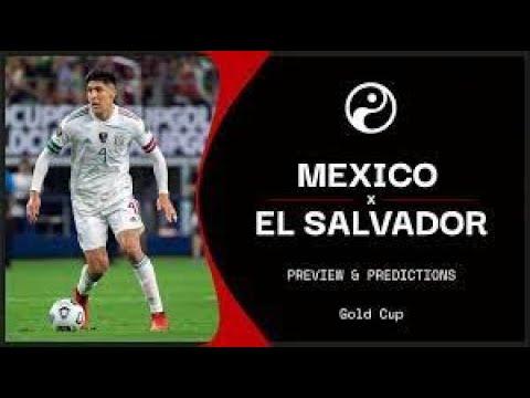 El Salvador vs Mexico: TV channel, live stream, team news ...
