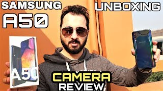 Samsung A50 Unboxing & First Impression|Samsung A50 Camera Review