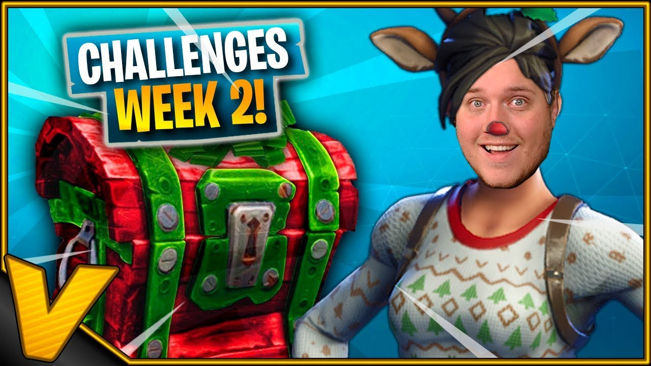 JULE-CHALLENGES! *Week 2* :: Fortnite Dansk