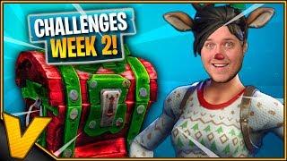JULE-CHALLENGES! *Week 2* :: Fortnite Dansk
