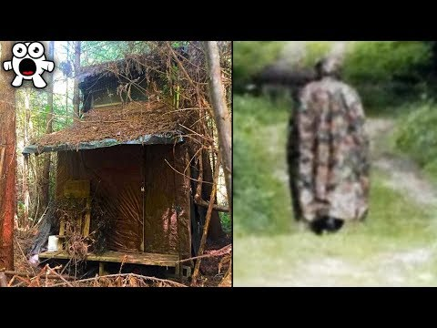 Top 10 Creepiest Things Found in the Woods
