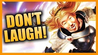 Try Not To Laugh Challenge - League of Legends