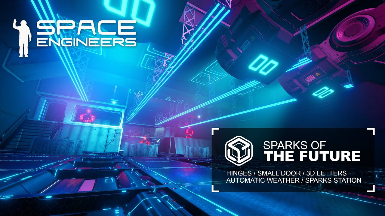 Space Engineers: Update 1.195 - Sparks of the Future - YouTube