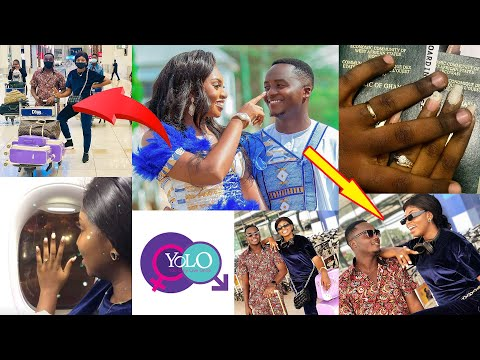 Yolo star Fiifi who recently married flies his wife to Dubai for Honey Moon (video) 2