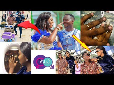 Yolo star Fiifi who recently married flies his wife to Dubai for Honey Moon (video) 2