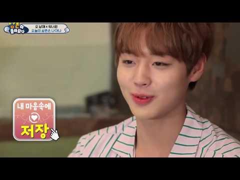 Park Jihoon cute ashamed moments