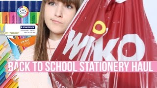Back To School Supplies Haul 2016 | Jess Louise
