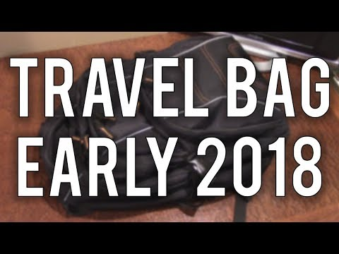 What's in My Tech Travel Bag - Early 2018
