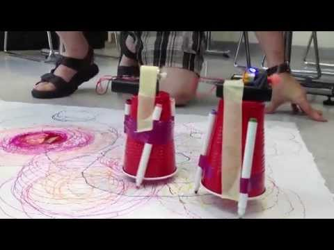 Aane Conference At Lasell College >> Workshop Homemade Robots