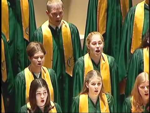"Abendstandchen (Brahms) - 2001 Cleveland High School  ""A"" Choir"