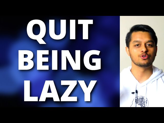 How to Develop Strong Work Ethic for Lazy People