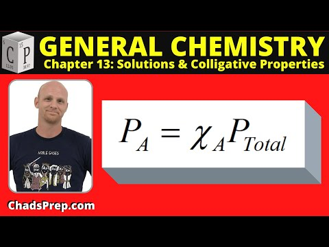 13.3 Vapor Pressure Depression And Raoult's Law