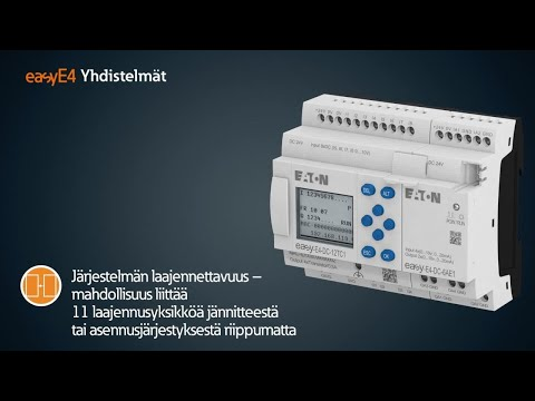 easyE4 the new generation of control relays - Finland